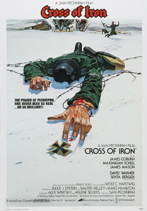 Cross of Iron - Movie Poster