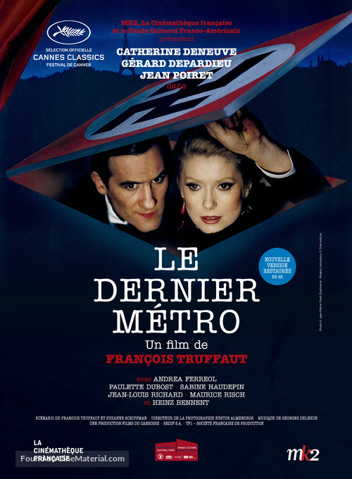 Le dernier métro - French Movie Poster