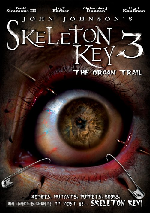 Skeleton Key 3: The Organ Trail - DVD cover