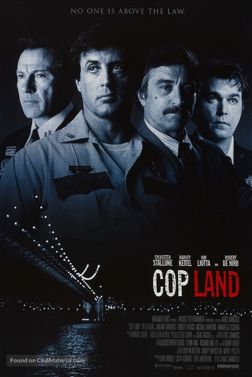 Cop Land - Movie Poster