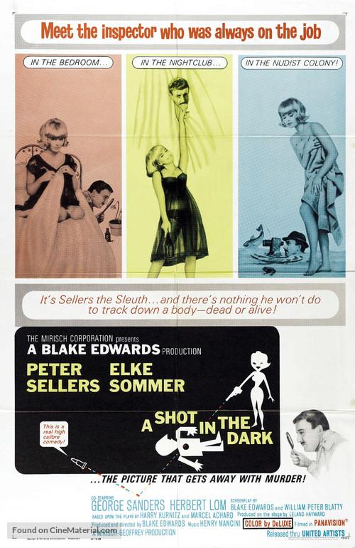 A Shot in the Dark - Movie Poster