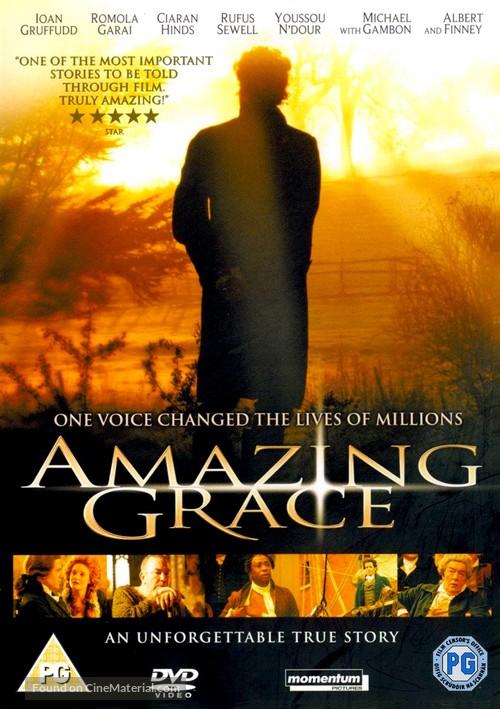 Amazing Grace - British DVD movie cover