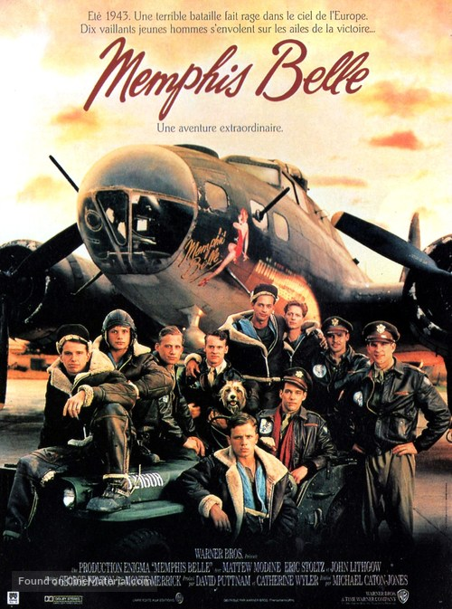 Memphis Belle - French Movie Poster
