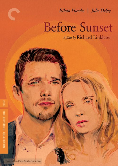 Before Sunset - DVD movie cover