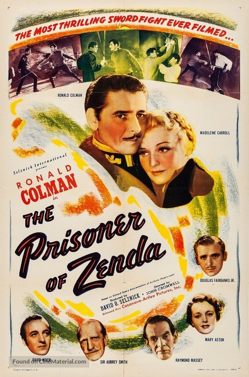 The Prisoner of Zenda - Movie Poster