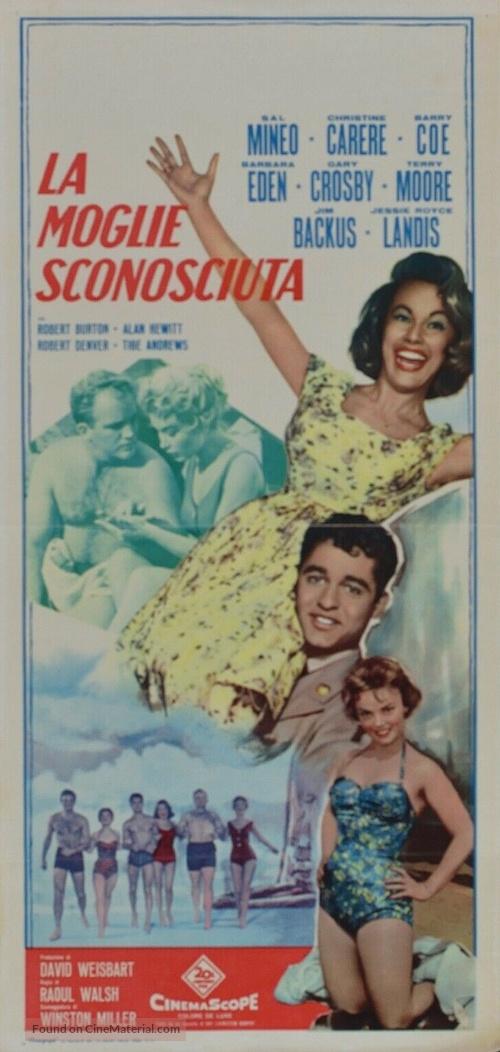 A Private's Affair - Italian Movie Poster