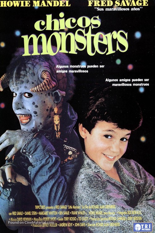 Little Monsters - Spanish Movie Poster