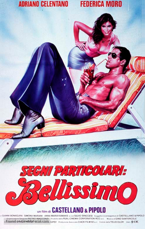 Segni particolari: bellissimo - Italian Movie Poster