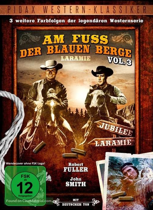 """""""Laramie"""" - German DVD movie cover"""