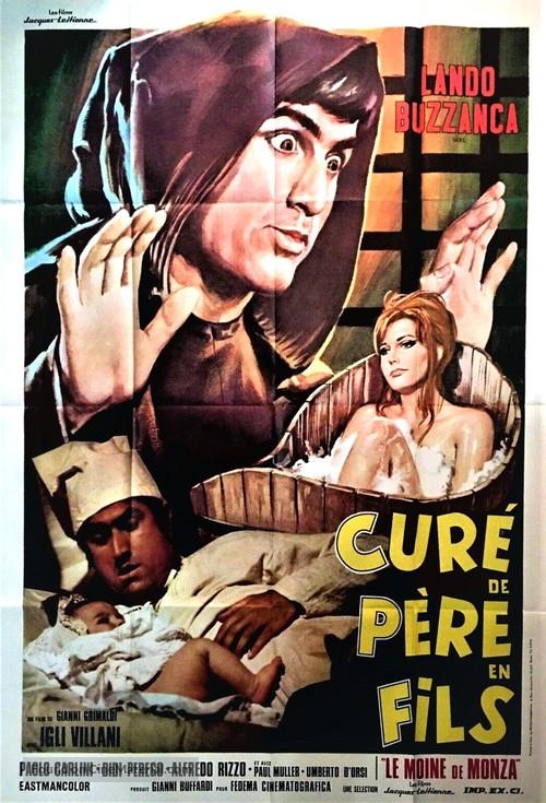 Puro siccome un angelo papà mi fece monaco... di Monza - French Movie Poster