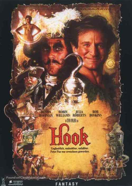Hook - German Movie Cover