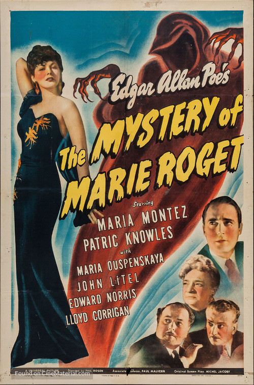 Mystery of Marie Roget - Movie Poster