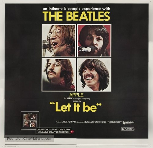 Let It Be - British Movie Poster