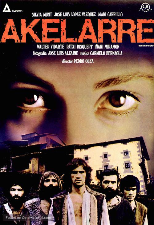 Akelarre - Spanish Movie Poster