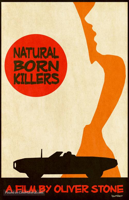 Natural Born Killers - poster