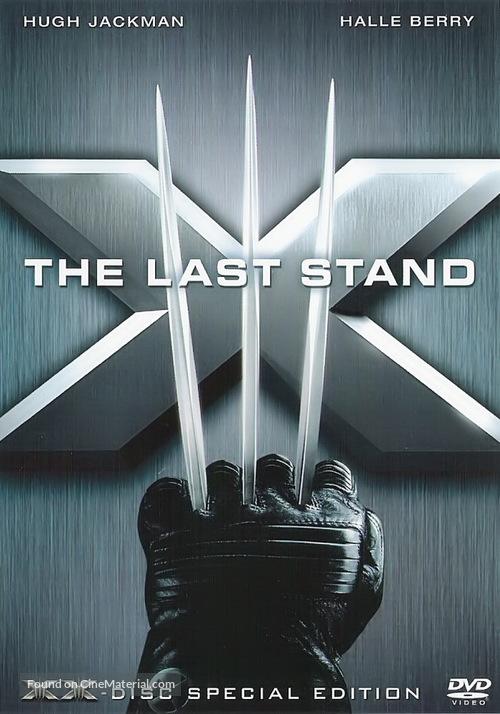 X-Men: The Last Stand - Norwegian DVD movie cover