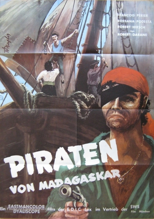 La bigorne - German Movie Poster