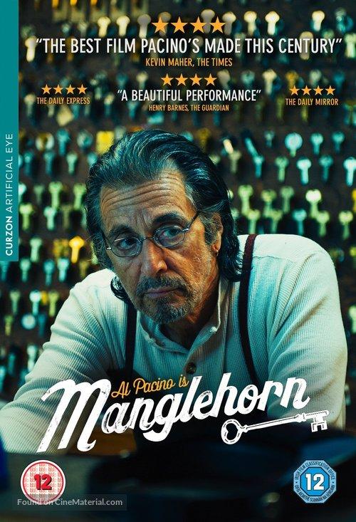 Manglehorn - British DVD movie cover