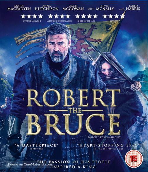 Robert the Bruce - British Blu-Ray movie cover
