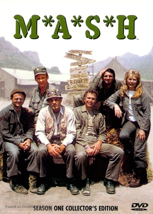 """""""M*A*S*H"""" - DVD cover"""