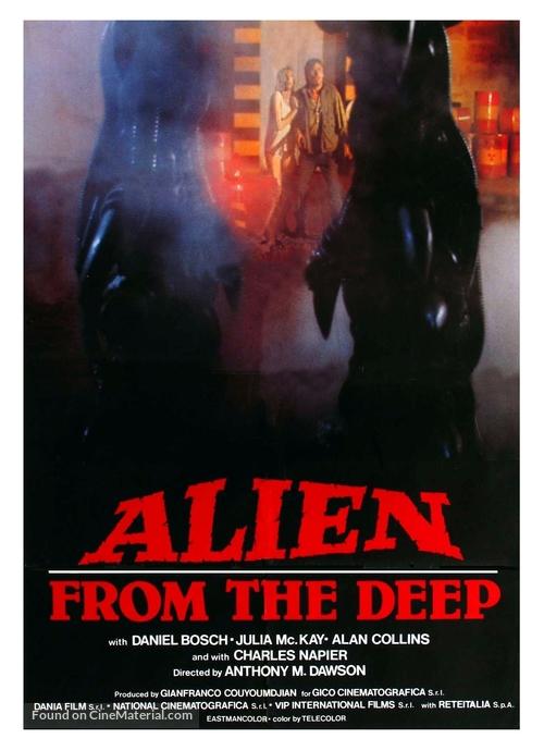 Alien degli abissi - Movie Poster