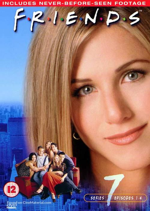 """Friends"" - British DVD movie cover"