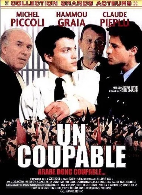 Un coupable - French DVD movie cover