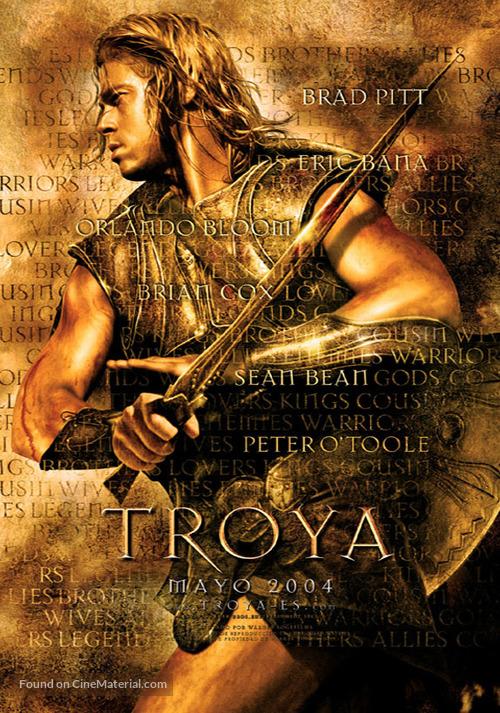 Troy - Spanish Teaser movie poster