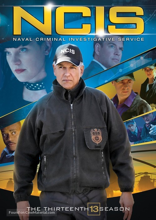 """Navy NCIS: Naval Criminal Investigative Service"" - DVD movie cover"