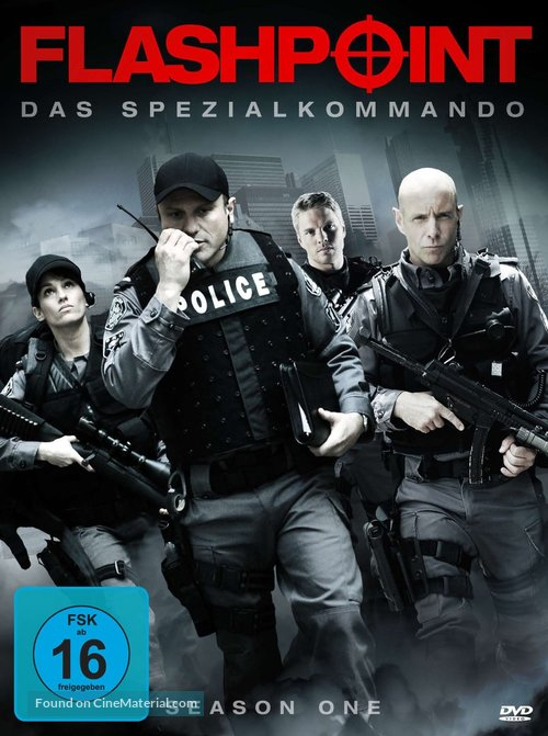 """""""Flashpoint"""" - German DVD movie cover"""