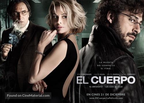 El cuerpo - Spanish Movie Poster