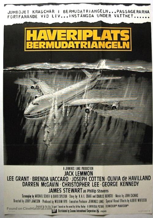 Airport '77 - Swedish Movie Poster