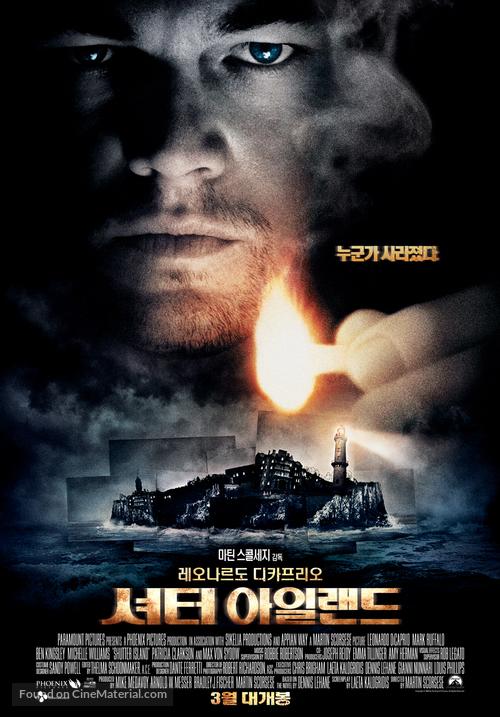Shutter Island - South Korean Movie Poster