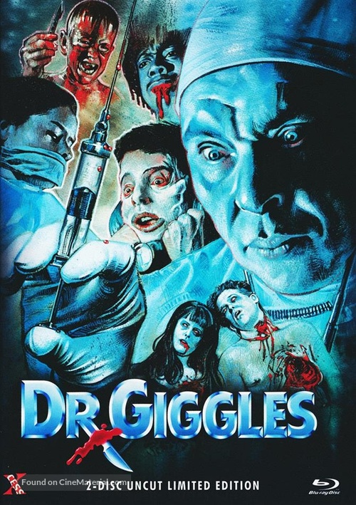 Dr. Giggles (1992) German blu-ray movie cover