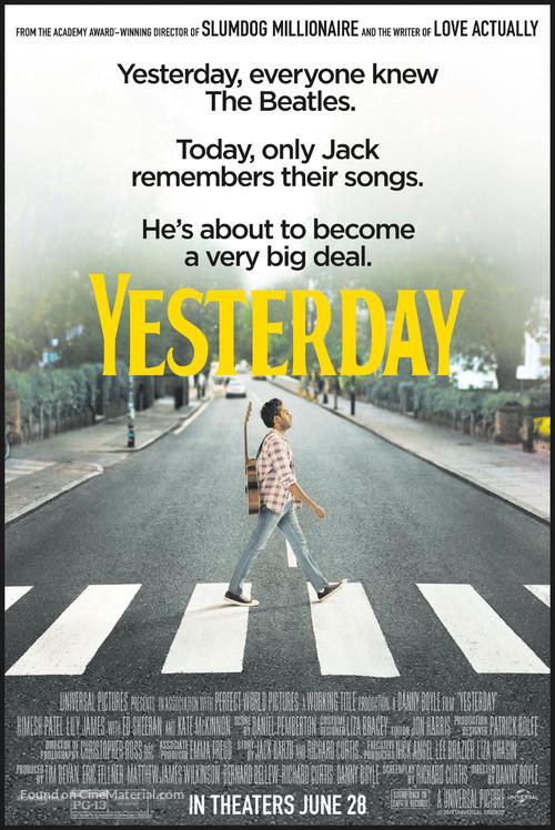 Yesterday - Movie Poster