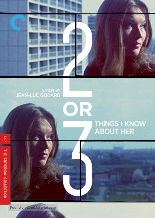 2 ou 3 choses que je sais d'elle - DVD movie cover