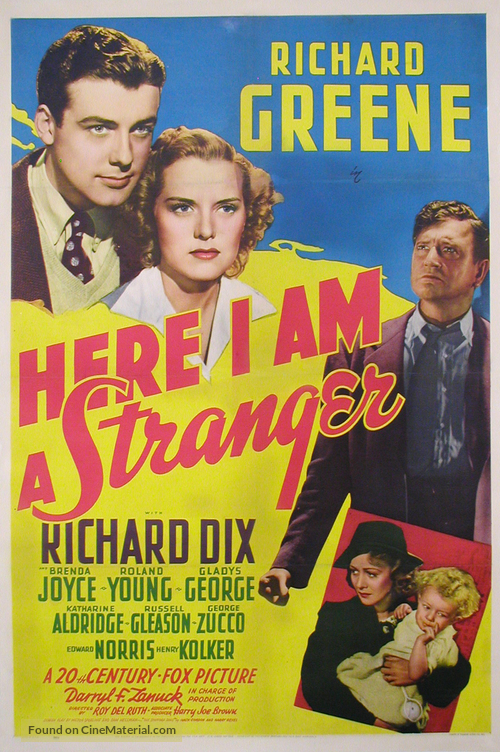 Here I Am a Stranger - Movie Poster