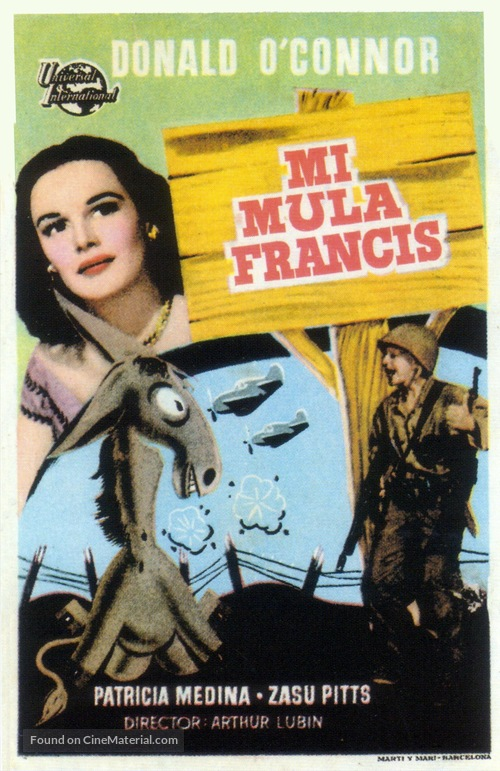 Francis - Spanish Movie Poster