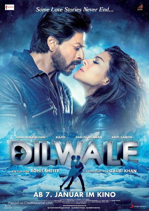 Dilwale - German Movie Poster