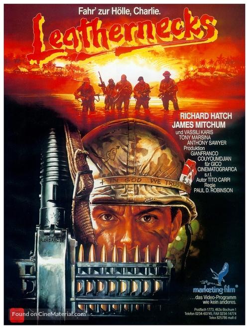 Colli di cuoio - German Video release movie poster