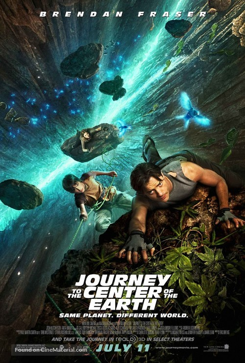 Journey to the Center of the Earth - Movie Poster