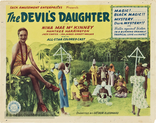 The Devil's Daughter - Theatrical movie poster