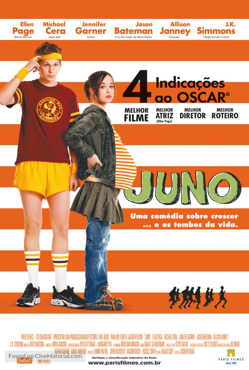 Juno - Brazilian Movie Poster