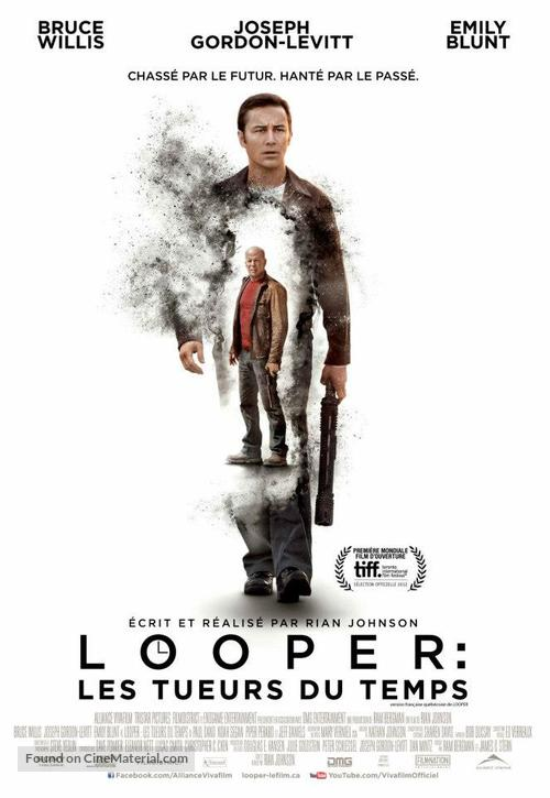 Looper - Canadian Movie Poster