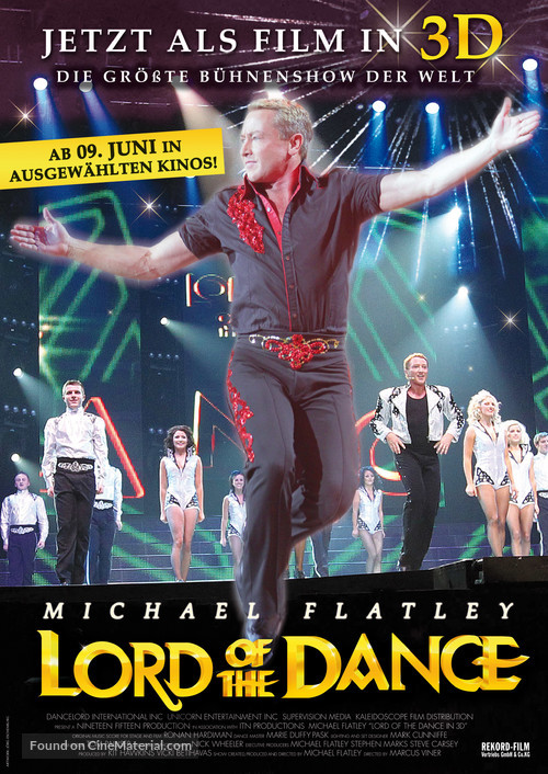 Lord of the Dance in 3D - German Movie Poster