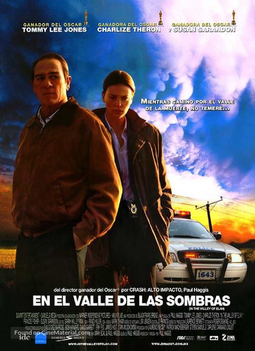 In the Valley of Elah - Mexican Movie Poster