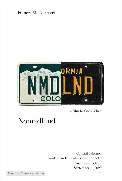 Nomadland 2020 Movie Poster