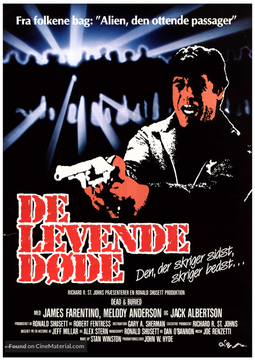 Dead & Buried - Danish Movie Poster