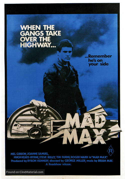 Mad Max - Australian Movie Poster