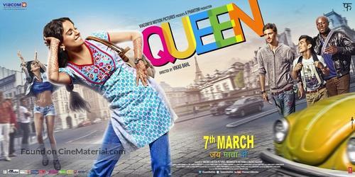 Queen (2013) Indian movie poster